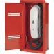 Вызывная станция тип A, с дверцей, врезной монтаж, красная